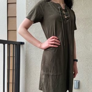 Satin Robinhood Dress